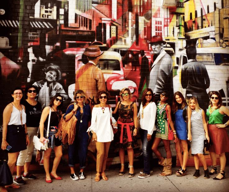 Primeiro NY Fashion Tour - Setembro 2015