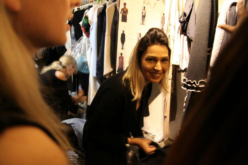 Participando do backstage dos desfiles da NYFW com o NY Fashion Tour - Curso de moda em Nova York - Tour de moda em Nova York - semana de moda de Nova York - desfiles - NYFW - backstage - Crivorot & Scigliano